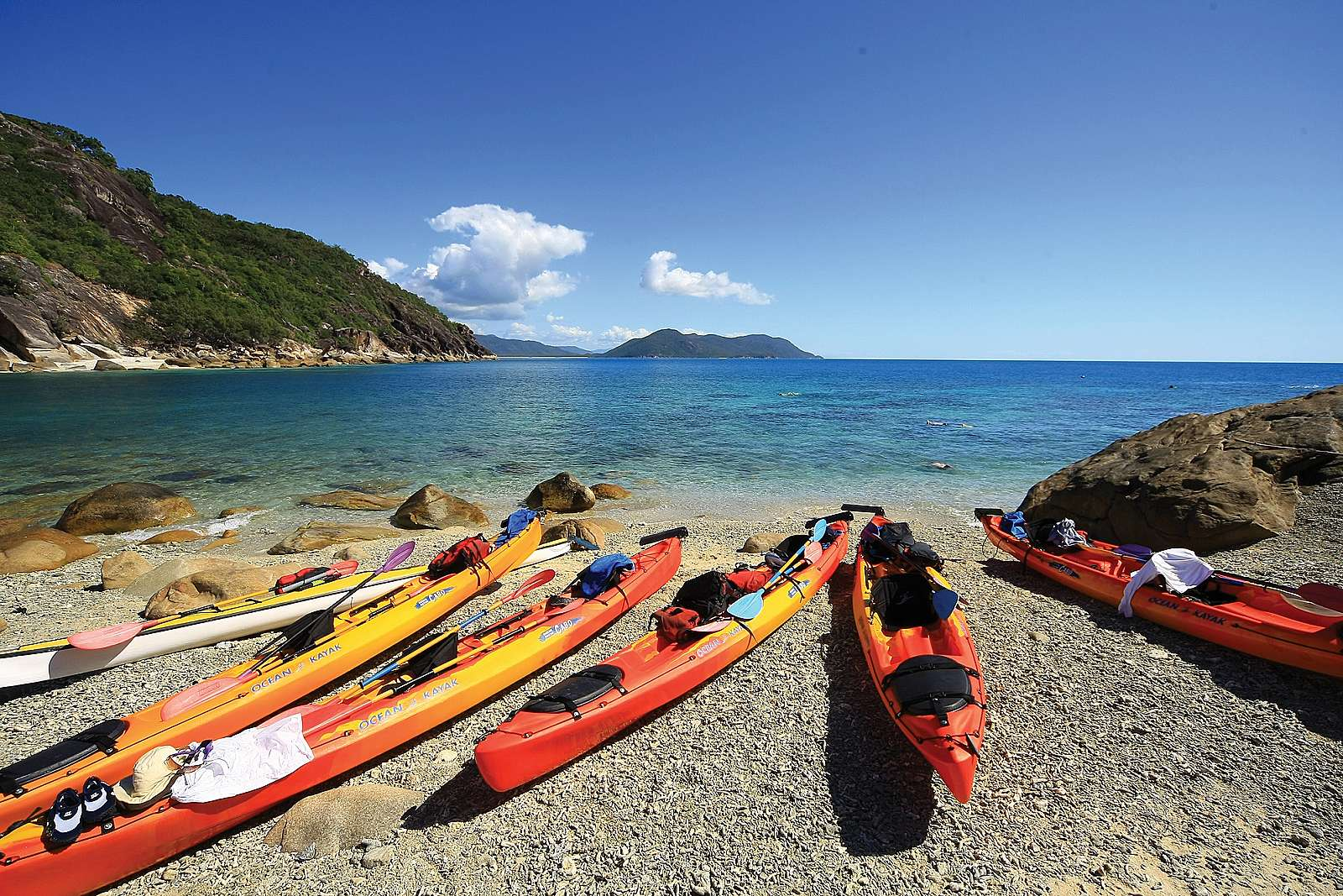 Image for Raging Thunder - Fitzroy Island Adventures - Sea Kayaking Adventure - Fitzroy Island