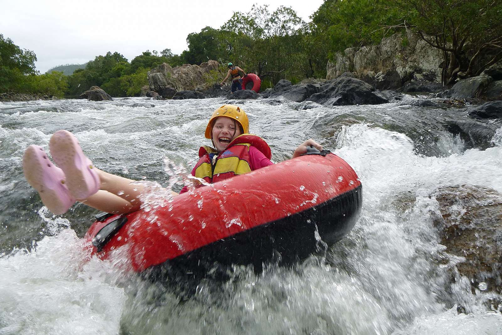 Image for Foaming Fury - River Tubing - Morning